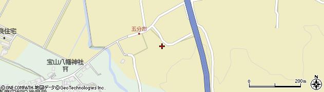 大分県玖珠郡九重町松木5282周辺の地図
