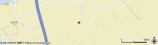 大分県玖珠郡九重町松木5120周辺の地図
