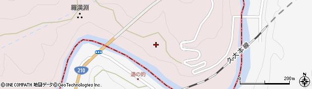 大分県玖珠郡玖珠町戸畑8851周辺の地図