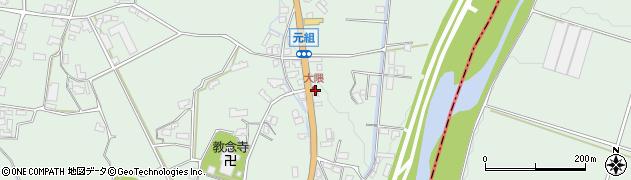 大分県玖珠郡玖珠町大隈1007周辺の地図