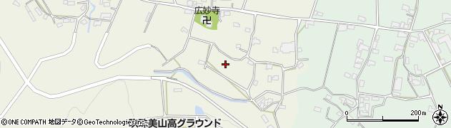 大分県玖珠郡玖珠町山田寺村周辺の地図