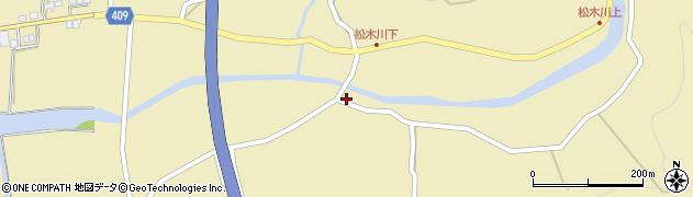大分県玖珠郡九重町松木5187周辺の地図