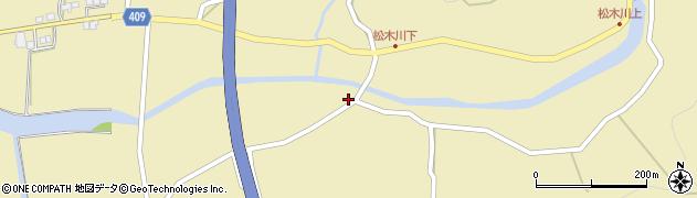 大分県玖珠郡九重町松木5188周辺の地図