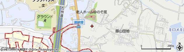 ゆのそ苑・軽費老人ホーム周辺の地図