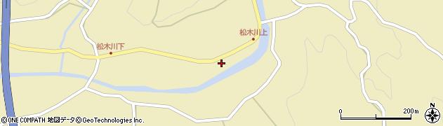 大分県玖珠郡九重町松木1191周辺の地図