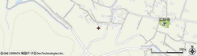 大分県玖珠郡玖珠町山田1087周辺の地図