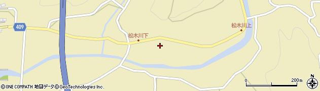 大分県玖珠郡九重町松木1175周辺の地図