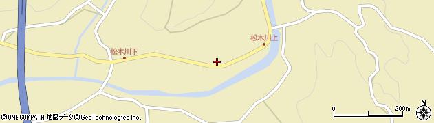 大分県玖珠郡九重町松木1184周辺の地図