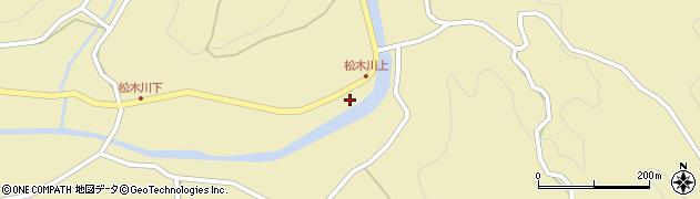 大分県玖珠郡九重町松木1195周辺の地図