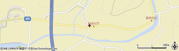 大分県玖珠郡九重町松木1114周辺の地図