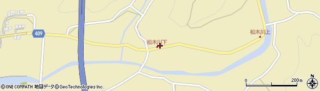 大分県玖珠郡九重町松木1120周辺の地図