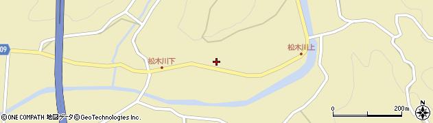 大分県玖珠郡九重町松木1130周辺の地図