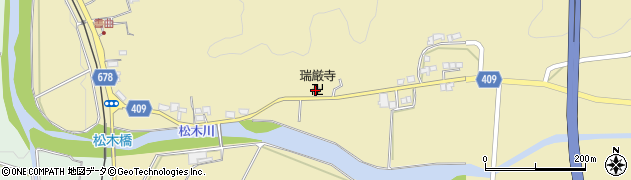 大分県玖珠郡九重町松木636周辺の地図