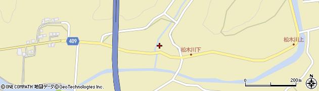 大分県玖珠郡九重町松木1103周辺の地図