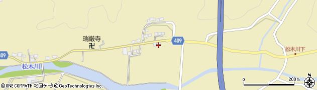 大分県玖珠郡九重町松木737周辺の地図