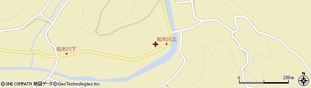大分県玖珠郡九重町松木1174周辺の地図