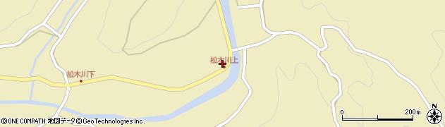 大分県玖珠郡九重町松木1197周辺の地図