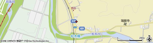 大分県玖珠郡九重町松木586周辺の地図