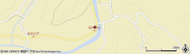 大分県玖珠郡九重町松木1202周辺の地図