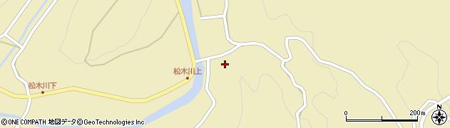 大分県玖珠郡九重町松木4882周辺の地図