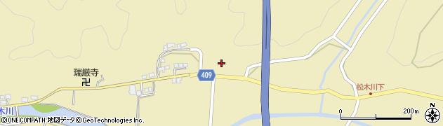 大分県玖珠郡九重町松木731周辺の地図