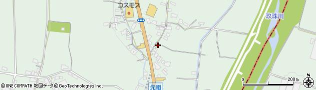 大分県玖珠郡玖珠町大隈968周辺の地図