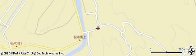 大分県玖珠郡九重町松木4876周辺の地図