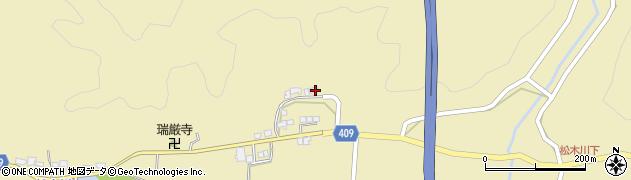大分県玖珠郡九重町松木692周辺の地図