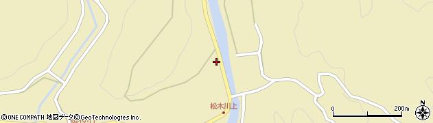 大分県玖珠郡九重町松木1205周辺の地図