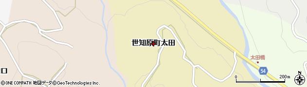 長崎県佐世保市世知原町太田周辺の地図