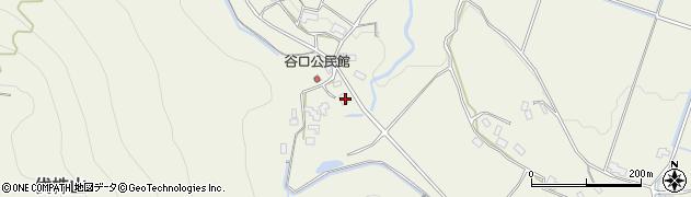 大分県玖珠郡玖珠町山田1776周辺の地図