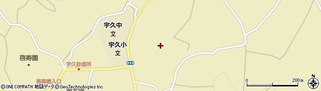 長崎県佐世保市宇久町平周辺の地図