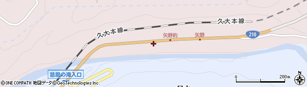 大分県玖珠郡玖珠町戸畑8022周辺の地図