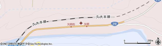 大分県玖珠郡玖珠町戸畑8025周辺の地図