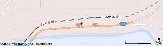 大分県玖珠郡玖珠町戸畑矢野釣周辺の地図