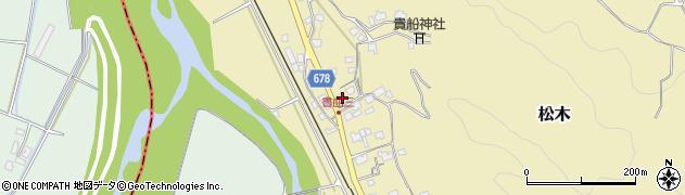 大分県玖珠郡九重町松木63周辺の地図