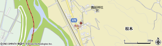 大分県玖珠郡九重町松木64周辺の地図