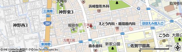 鏑流神社周辺の地図