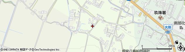 大分県玖珠郡玖珠町塚脇851周辺の地図