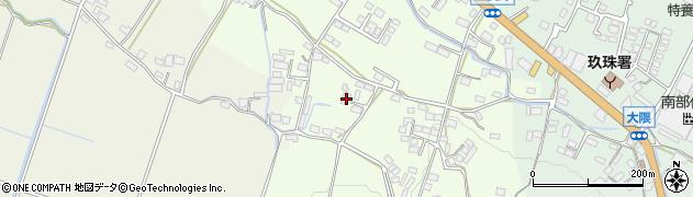 大分県玖珠郡玖珠町塚脇853周辺の地図