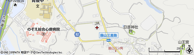 JAくるめ藤山農業倉庫周辺の地図