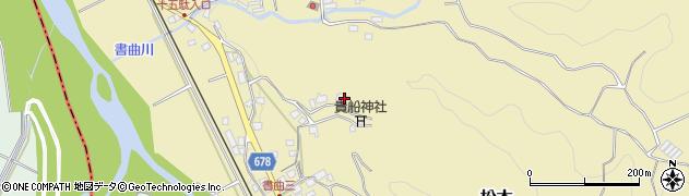 大分県玖珠郡九重町松木201周辺の地図