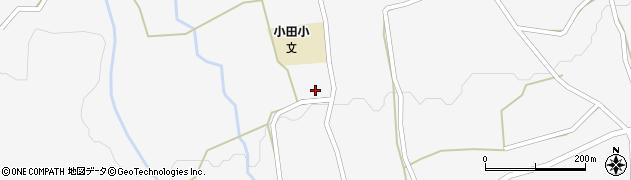 大分県玖珠郡玖珠町小田1031周辺の地図