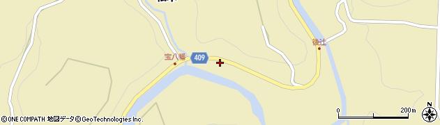 大分県玖珠郡九重町松木1389周辺の地図