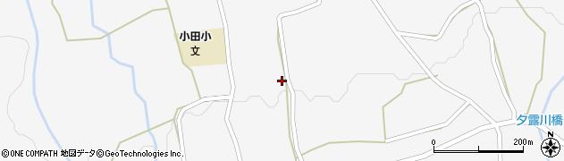 大分県玖珠郡玖珠町小田934周辺の地図