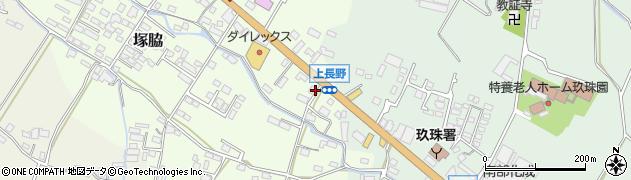 大分県玖珠郡玖珠町塚脇722周辺の地図