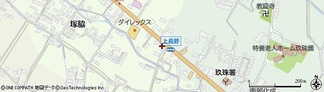 大分県玖珠郡玖珠町塚脇877周辺の地図