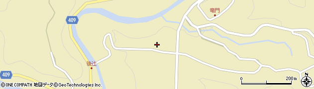 大分県玖珠郡九重町松木日平周辺の地図