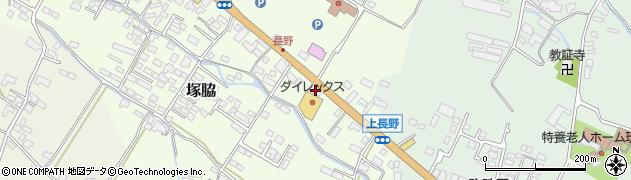 大分県玖珠郡玖珠町塚脇731周辺の地図