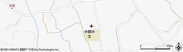 大分県玖珠郡玖珠町小田988周辺の地図